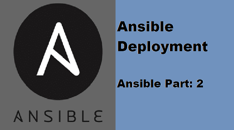 Ansible deployment